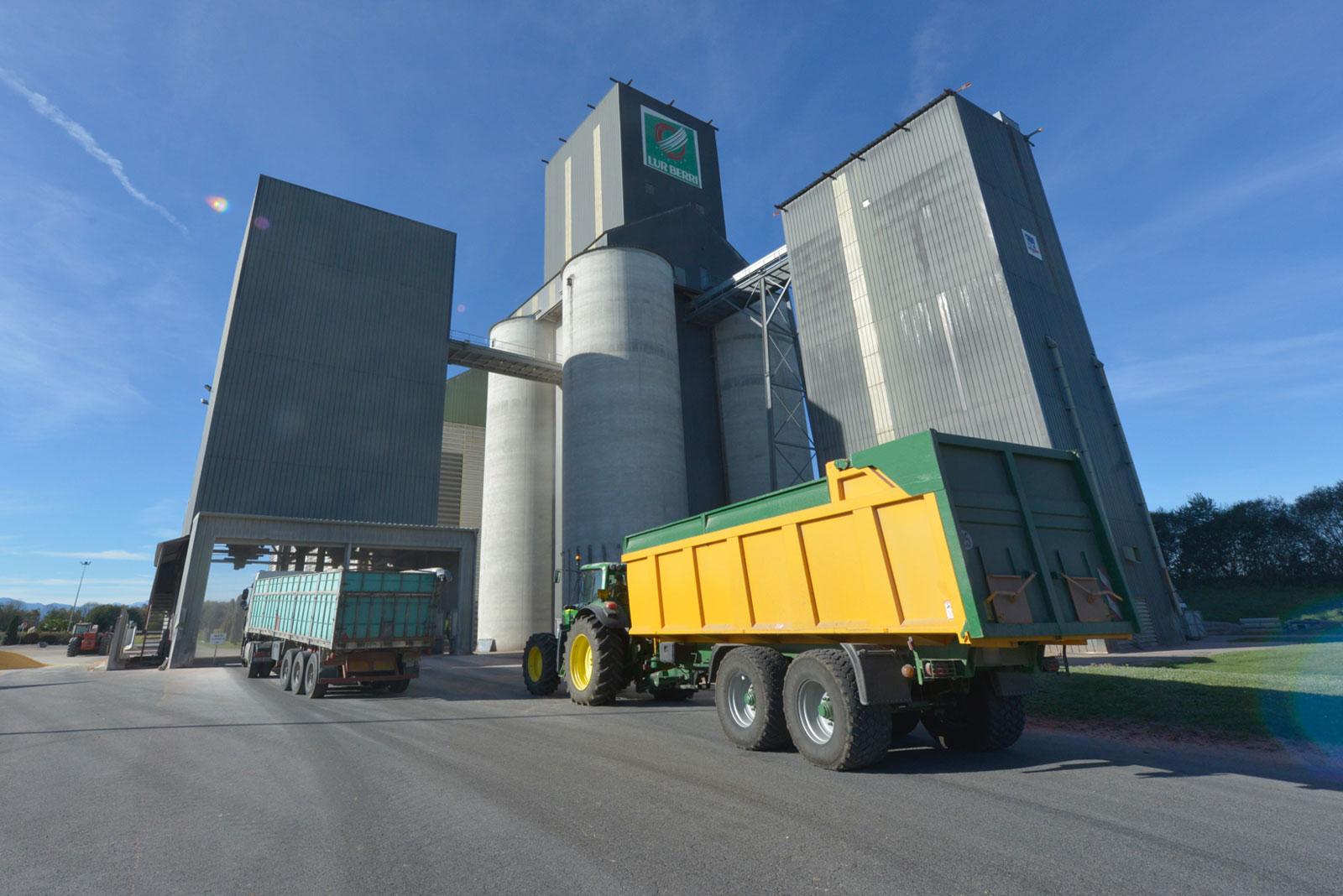 silo collecte de cereales