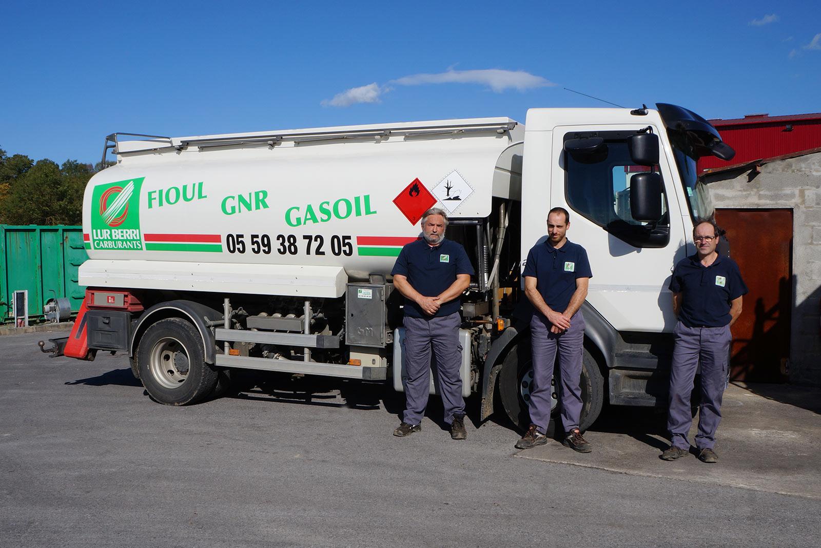 Equipe carburants
