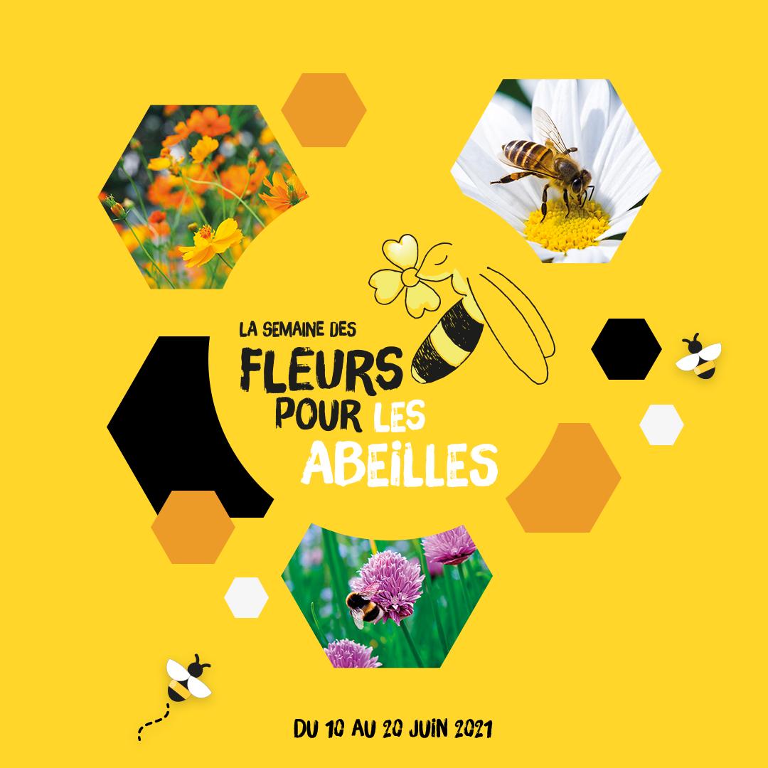 La Semaine des fleurs pour les abeilles 2021